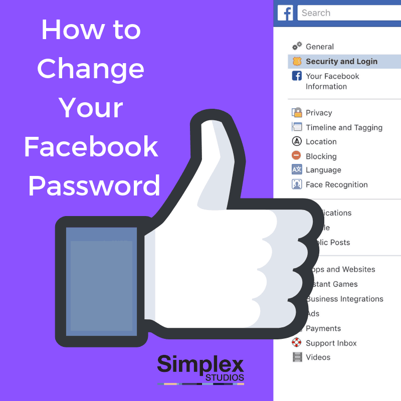 To facebook need password reset How to