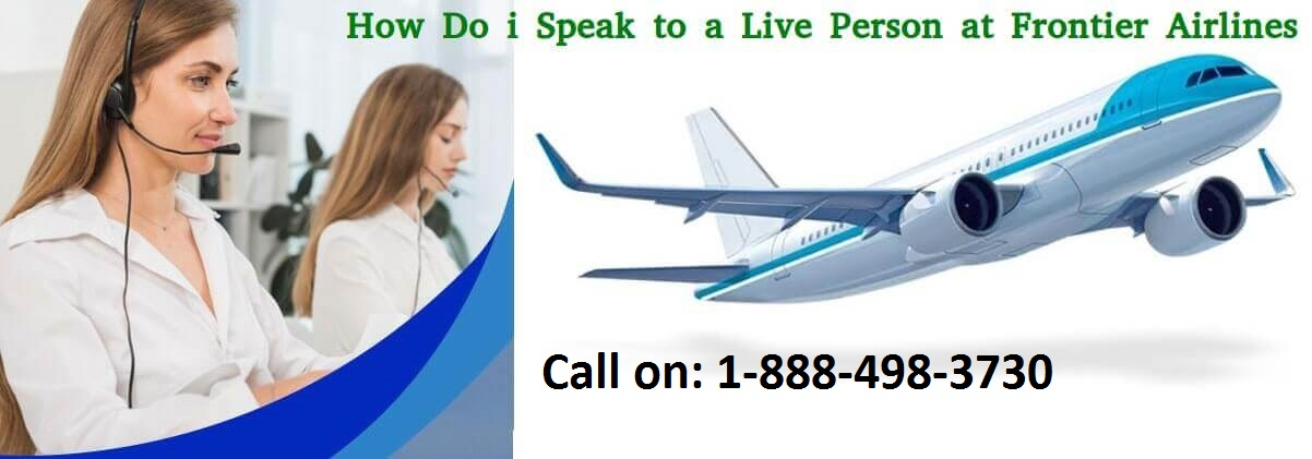 How can I talk to someone at Frontier airlines?