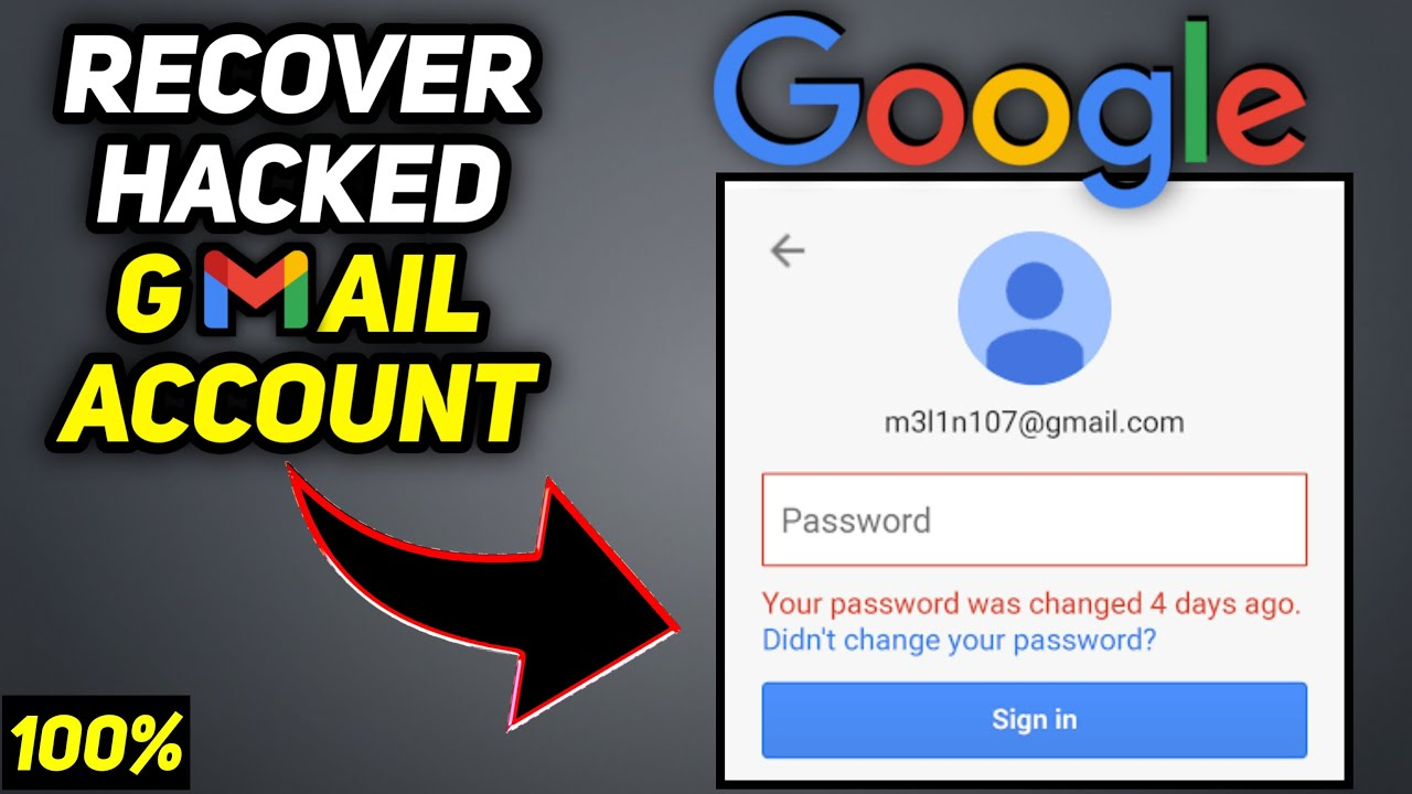 How Do I Recover a Hacked Gmail Account?