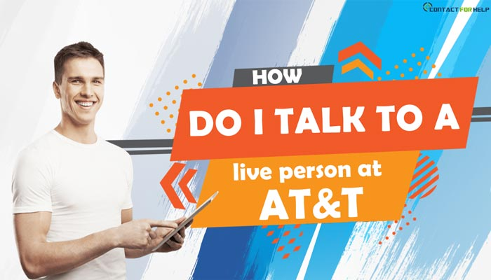 How do i get a live person at AT&T?